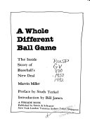 A Whole Different Ball Game