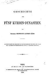 Geschichte von fünf Kurden-Dynastien
