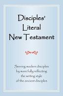 Disciples  Literal New Testament