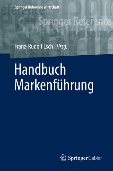 Handbuch Markenf  hrung PDF