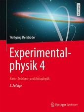 Experimentalphysik 4: Kern-, Teilchen- und Astrophysik, Ausgabe 5