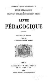 Revue pédagogique: Volume12,Partie1