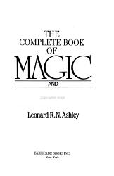 The Complete Book Of Magic And Witchcraft Book PDF