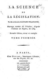 La science de la législation: Volume1