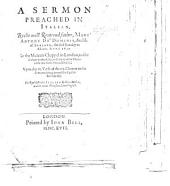 A sermon preached ... the first Sunday in Advent, Anno 1617 in the Mercers Chappel in London, to the Italians in that City ... upon the 12 verse of the xiii. Chapter to the Romanes ... Translated into English