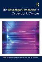 The Routledge Companion to Cyberpunk Culture PDF