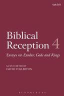 Biblical Reception, 4