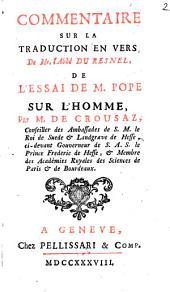 Commentaire sur la traduction en vers de Mr. l'Abbé Du Resnel, de l'Essai de M. Pope sur l'homme