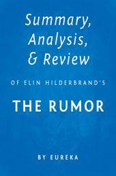 The Rumor by Elin Hilderbrand | Summary & Analysis