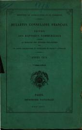 Bulletin consulaire français: Volume2,Partie1