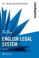 Law Express  English Legal System PDF