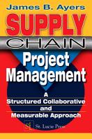 Supply Chain Project Management PDF