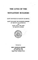 The Lives of the Monastery Builders PDF