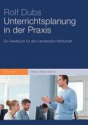 Unterrichtsplanung in Der Praxis PDF
