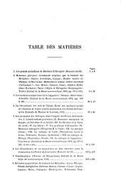 Mélanges numismatiques: Volume1