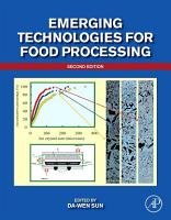 Emerging Technologies for Food Processing PDF