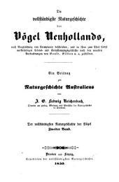 Ein Beitrag zur Naturgeschichte Australiens: Bände 1-3