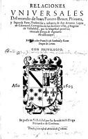 Relaciones Vniuersales del mundo     Primera  y segunda parte  traduzidas     por     Diego de Aguiar  etc   With an engraved map of Spain   MS  notes PDF