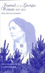Journal of a Georgia Woman, 1870-1872