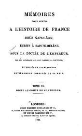 Mémoires pour servir à l'histoire de France sous Napoléon: Mémoires