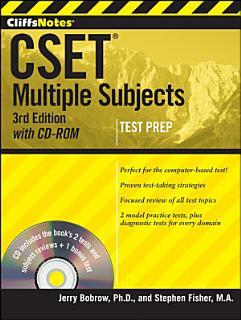 CliffsNotes CSET Book
