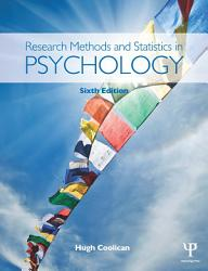 Research Methods And Statistics In Psychology Book PDF