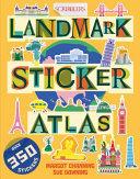 Scribblers Landmark Sticker Atlas