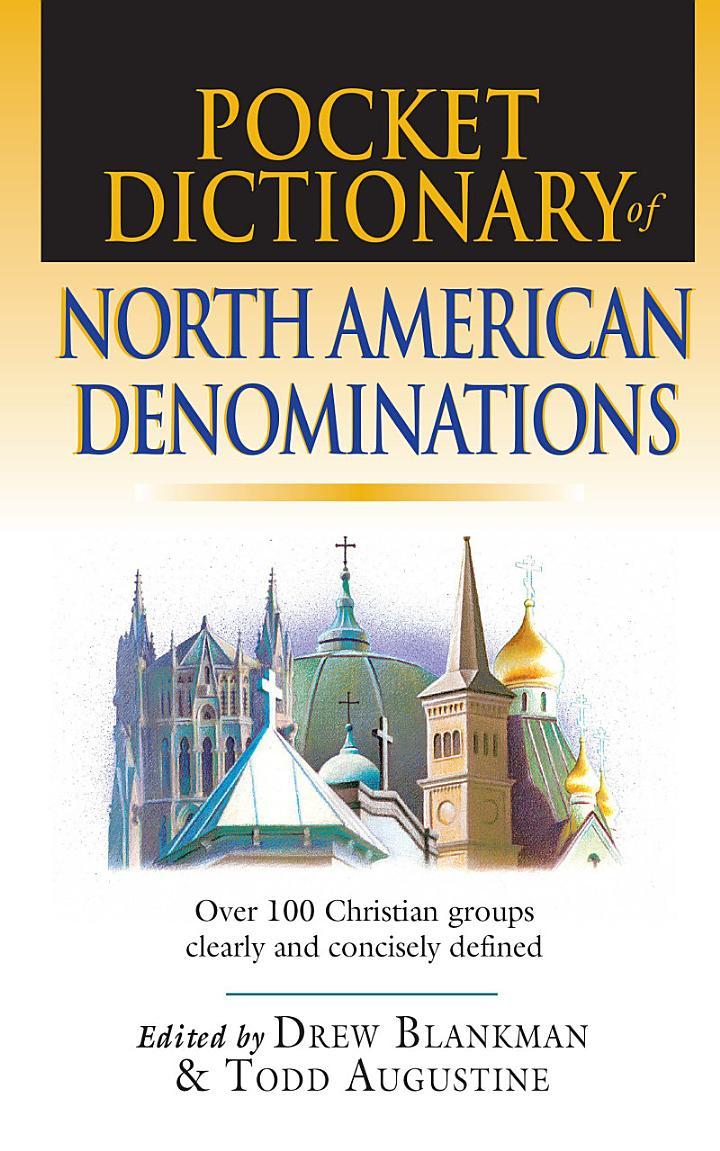 Pocket Dictionary of North American Denominations
