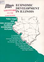 Economic Development in Illinois PDF