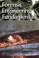 Forensic Engineering Fundamentals PDF