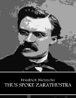 Thus Spoke Zarathustra PDF