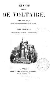 Oeuvres complètes de Voltaire: Correspondance générale