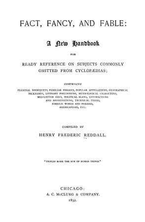 Fact  Fancy  and Fable PDF