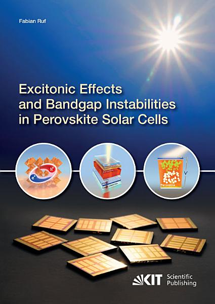 Excitonic Effects And Bandgap Instabilities In Perovskite Solar Cells