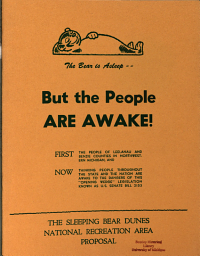 The Bear is Asleep  But the People are Awake   PDF