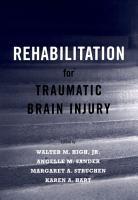 Rehabilitation for Traumatic Brain Injury PDF