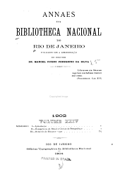 Anais da Biblioteca Nacional: Volume 24