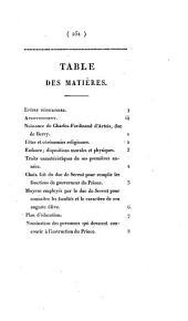 Vie de S. A. R. Charles-Ferdinand d'Artois duc de Berry: orné de portraits et de fac-similés