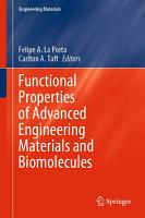 Functional Properties of Advanced Engineering Materials and Biomolecules PDF