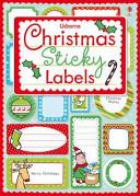 Christmas Sticky Labels PDF