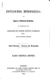 Early Oriental History, Comprising the Histories of Egypt, Assyria, Persia, Lydia, Phrygia, and Phoenicia