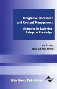 Integrative Document   Content Management Book