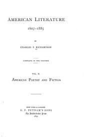 American poetry and fiction