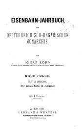 Eisenbahn-jahrbuch der Österreichisch-ungarischen monarchie ....: Band 14