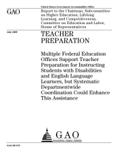 Teacher Preparation: Multiple Federal Education Offices Support Teacher Preparation for Instructing Students with Disabilities and English Language Learners