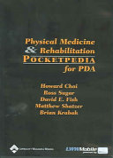 Physical Medicine and Rehabilitation Pocketpedia for Pda PDF