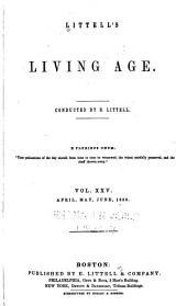 Littell's Living Age: Volume 25