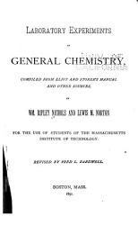 Laboratory Experiments In General Chemistry Book PDF