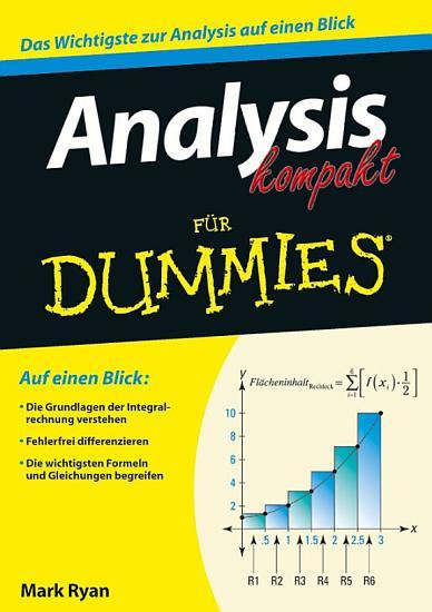 Analysis kompakt fur Dummies PDF