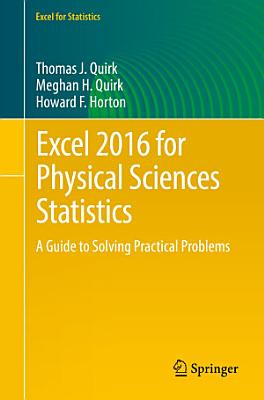 Excel 2016 for Physical Sciences Statistics PDF